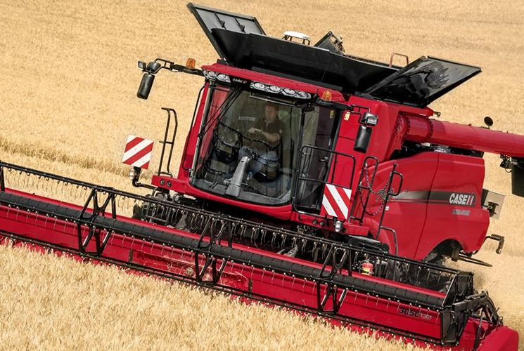 The Axial-Flow 5140, a reliable and practical combine harvester