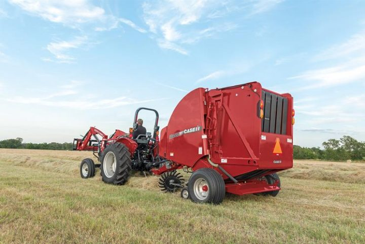 The RB455A, the durable and efficient baler