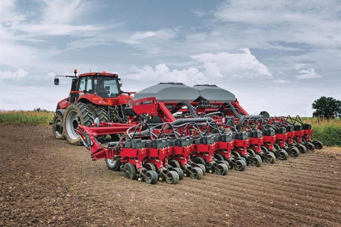 Case IH 1245 Pivot Transport Trailing