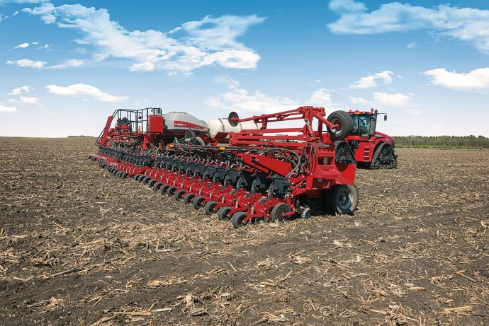 Case IH 2160 Large Front Fold Trailing