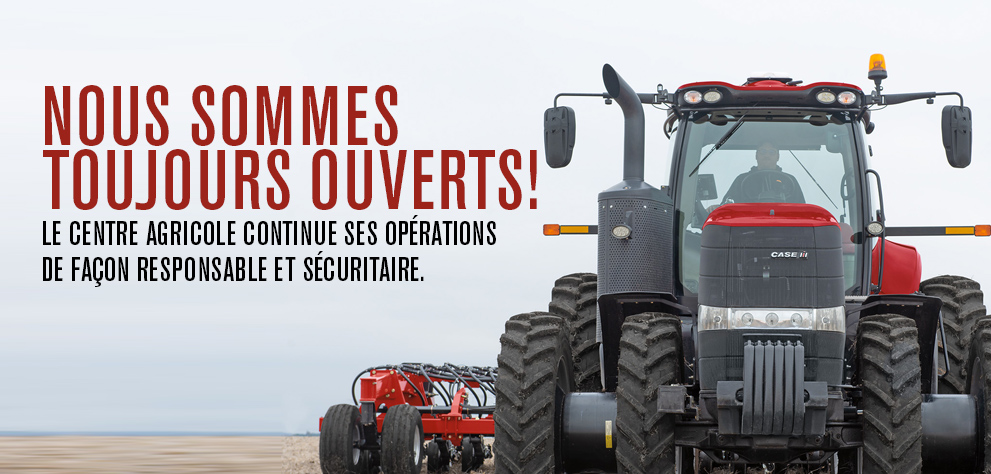 Nous sommes toujours ouvert
