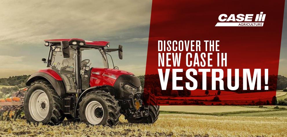 Discover the new case IH Vestrum!